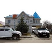 Аренда двух лимузинов Hummer H2 фото