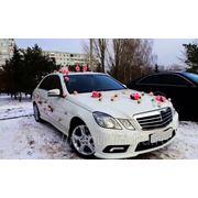 Машины на свадьбу Mercedes E 200 фото