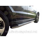 "Подножки боковые алюм. нерж. 67"" Mitsubishi PAJERO SPORT New / L-200 09+ фото"