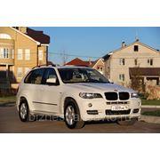 BMW X5 цвет белый в аренду с водителем фото
