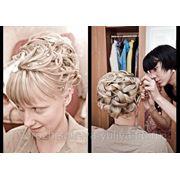Свадебные прически и макияж