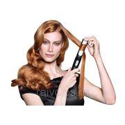 Укладка волос электрощипцами, утюжком на длинные волосы фото