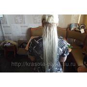 Наращивание волос. фото