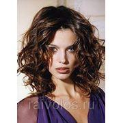 Укладка волос на Диффузор (Мокрый эффект) средние волосы фото