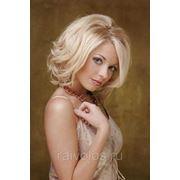 Укладка феном средние волосы фото