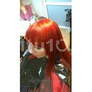 Окрашивание длинных волос фото