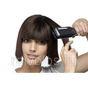 Укладка волос электрощипцами, утюжком на средние волосы фото