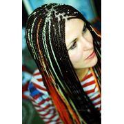 Плетение кос (синегальсие) фото
