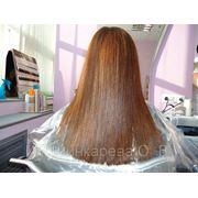 Бразильское кератиновое выпрямление волос QOD Organiq Gold фото