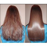 Кератирование, восстановления и выпрямления волос фото