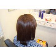 Выпрямление или лечение волос? Идеально гладкие, шелковые и послушные волосы в одной процедуре! со скид фото