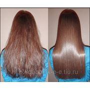 Бразильское кератиновое выпрямление и восстановление волос Coco choco фото