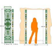 Ковка. Разработка дизайна и эскиза, чертежей с полной спецификацией по металлу и деталям. фото