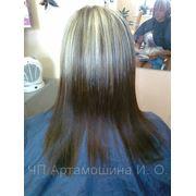 Кератиновое выпрямление волос, восстановление структуры волос Симферополь фото