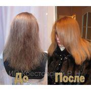 Ламинирование волос + реконструкция. фото