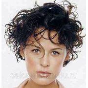Химическая завивка на короткие волосы фото