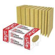 Плита ИЗБА ФАСАД 135кг/м3 1000*600*50,100 базальтовая теплоизоляция м3 фото