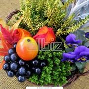 Букеты искусственных цветов фото