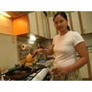 Повар азиатской кухни фото