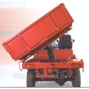 Электротележка платформенная (самосвал) ЕС301 г/п 3 тонны, Болгария фото