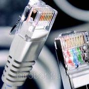 Монтаж и настройка домашних сетей. фото