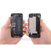 Замена аккумулятора, батарейки iPhone 4 в Алматы фото