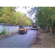 Асфальтирование, укладка асфальта в Новосибирске фото
