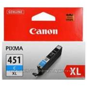 Картридж Canon CLI-451 C XL, голубой