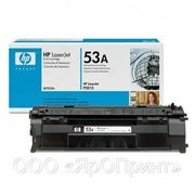 Заправка картриджа HP Laser Jet Q7553A (150гр) фото