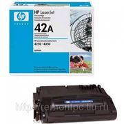 Заправка лазерного черного картриджа HP Q5942A LJ 4250/4350 (без замены чипа) фото