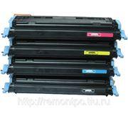 Заправка лазерного цветного картриджаHP Q6001A / Q6002A / Q6003A с заменой чипа цветного фото