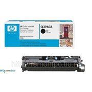 Заправка лазерного цветного картриджа HP Q3960A CLJ 2550 с заменой чипа черн. фото