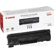 Заправка лазерного картриджа Canon 713 фото
