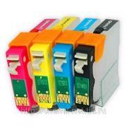 Нано-картриджи BURSTEN 2- го поколения SC10 для принтеров EPS T1100 (T731N-T734N) x 5 фото