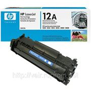 Заправка картриджей HP LJ1010/1018/1022/M1005, Q2612A фото