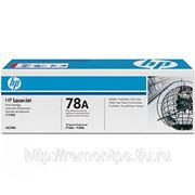 Заправка лазерного черного картриджа HP CE278A LJ P1566/P1606 (без замены чипа) фото