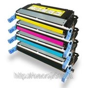 Заправка картриджа HP CE250A / CE251A / CE252A / CE253A для CLJ CP3525/CM3530 c заменой чипа