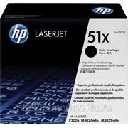 Заправка лазерного черного картриджа HP Q7551X LJ P3005/M3027/M3035 (без замены чипа) (экономичный) фото