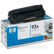 Заправка лазерного черного картриджа HP C4092A LJ 1100/3200 фото