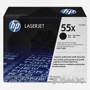 Заправка лазерного черного картриджа HP CE255X LJ P3010/P3015 с заменой чипа (экономичный) фото