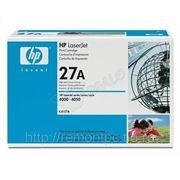 Заправка лазерного черного картриджа HP C4127A LJ 4000/4050 фото