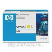 Заправка картриджа HP Q5951A / Q5952A / Q5953A для LJ 4700 с заменой чипа фото