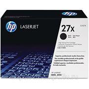 Заправка лазерного черного картриджа HP C4127X LJ 4000/4050 (экономичный) фото