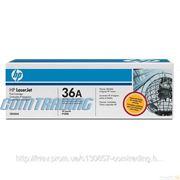 Заправка картриджа HP CB436A фото