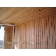 Обшивка потолка деревянной вагонкой фото