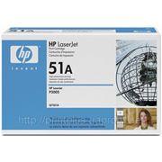 Заправка картриджей HP Q7551A (№51A), принтеров HP LaserJet P3005/M3027/M3035 фото