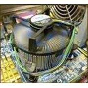 Замена/установка устройства охлаждения процессора системном блоке фото
