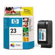 Заправка картриджа HP 23 (C1823D) для принтера HP DJ1120,1125,810,815,880,895,710,720