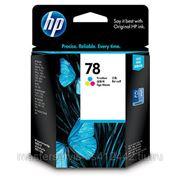 Заправка картриджа HP 78 (C6578D) для принтера HP DJ 920,930,932,935,940,948