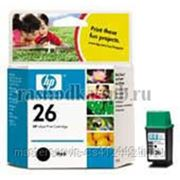 Заправка картриджа HP 26 (C51626A) для принтера HP DJ400/420c/500/510/520/540/550/560